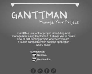 ganttman - Carta Gantt desde el movil