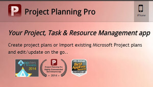 project planning pro - Carta Gantt desde el movil